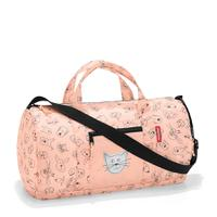 Сумка детская складная dufflebag cats and dogs rose, Reisenthel